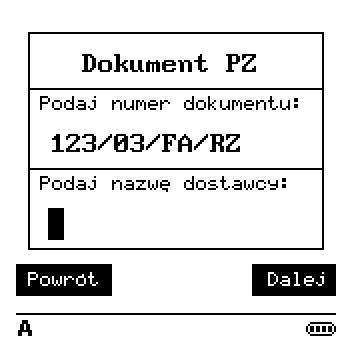 Tworzenie dokumentu PZ